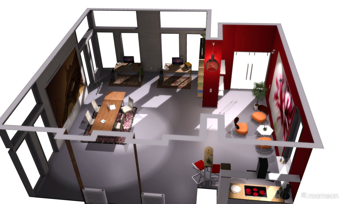 Features 3d grafik grundriss design for Room layout designer free