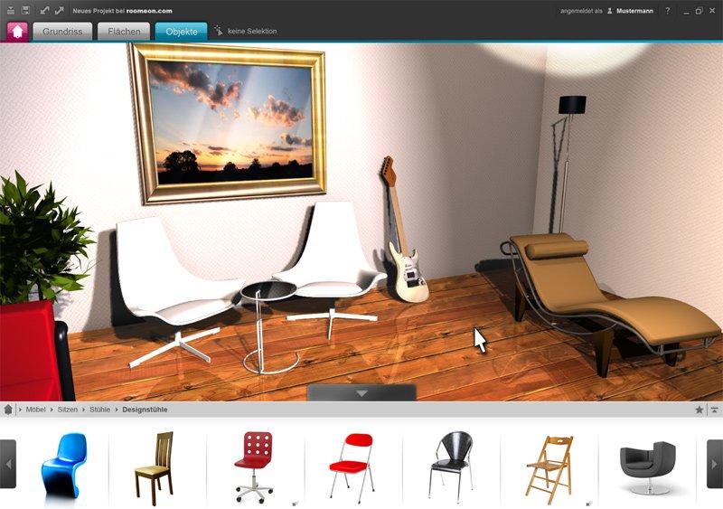 roomeon blog erste bilder vom 3d raumplaner. Black Bedroom Furniture Sets. Home Design Ideas