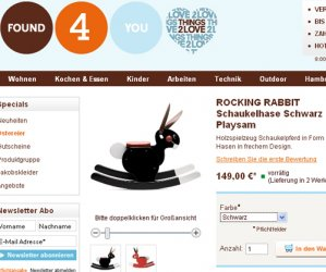 Schaukelhase Rocking Rabbit